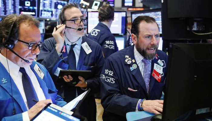 phiên giao dịch cổ phiếu ở Mỹ